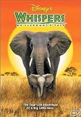 Looking for the DVD Whispers an elephant tale