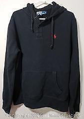 Ralph Lauren Polo Black Hoodie Sweater