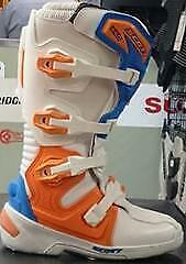 Cameron Cycle SCOTT 350 Motocross Boots - White - Men's size 10 or Ladies size 12