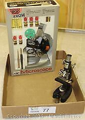 "New 1220 Power Microscope & Companion Scope Pick up in Time-slot ""A"""