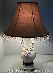 Vintage Lamp with Newer Shade - C