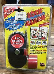 Adventure Outfitters 8' Cable Lock and Alarm for Kayak or Bike