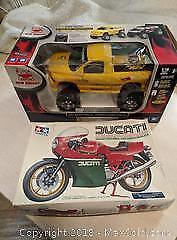 Motorcycle kit, RC Truck