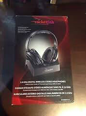Rocketfish Over-the-Ear 2.4GHz Digital Wireless Stereo Headphone