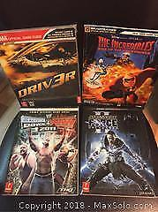 Lot of 4 Video Game Guides