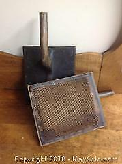Giant Antique Carding Combs
