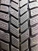 225/60/16 Hankook ipike winter tires for sale.