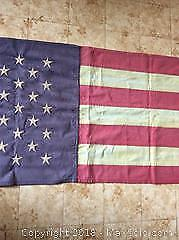 American Flag 86 X 21in Country Style
