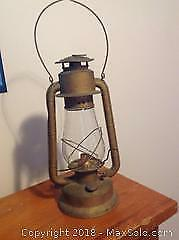 Vintage Beacon Barn Lamp