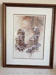 """""""Autumn Frosting"""" Print by William Biddle A"""