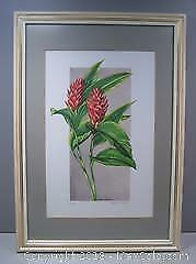 Red Ginger Limited Edition Numbered Vintage Print Signed Katie Shears #2 - B