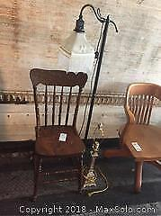 Chair and Two Lamps B