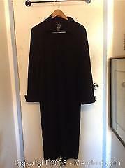 Black Lemmie for Nina Leonard Long Jacket Dress B