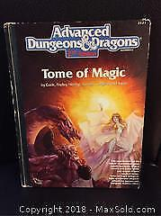 D and D RPG Tome of Magic