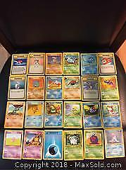 Lot of 24 First Edition Pokemon Cards - 2