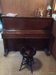 Upright Piano. B.
