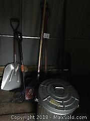 Shovels, Weed Puller And More B