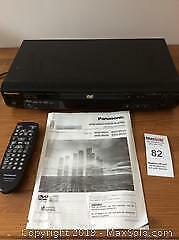 Panasonic DVD CD Player