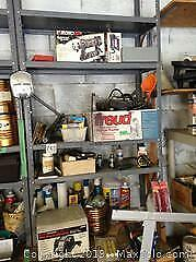 Metal Shelving Tools And Contents B