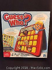 Guess Who Board Game (New)