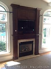 Built In Cabinetry Over Fireplace C