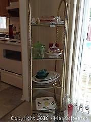 Pressed Glass, Shelf And More
