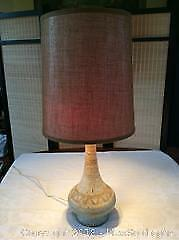 Mid Century Table Lamp Working