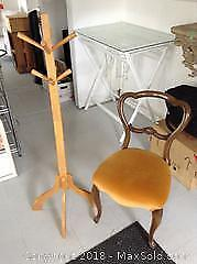 Victorian Chair and Stand. A