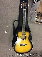 George Washburn Jumbo Guitar A