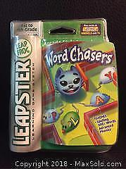 Word Chasers Video Game for Leapster (New)