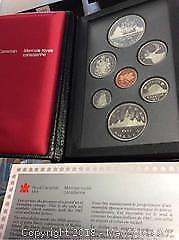 1887-1987 Canada Detroit Silver Double Dollar Coin Set