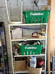 Shelving Unit And Garage Contents B