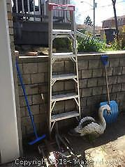 Ladder, Dolly, Garden Decor And Tools - B