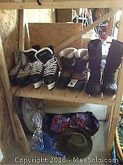 Ice Skates And Boots