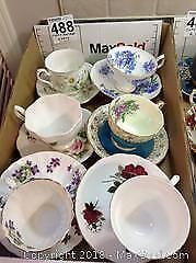 Fine China Cups And Saucers A