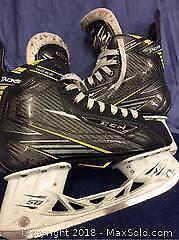 CCM Sz 7 Boys Tacks Hockey Skates 4092 A