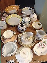 Bowls, Creamers and More. A