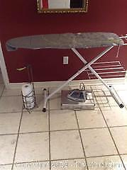 Iron, Ironing Board and More A