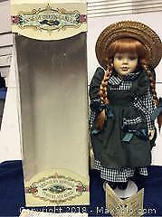 Anne Of Green Gables Porcelain Doll A