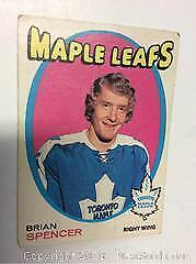 1971-72 OPC Brian Spencer Rookie Card