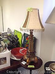 Lamp And Table- B