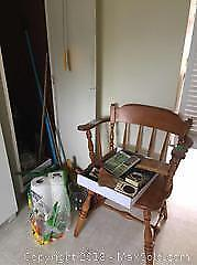 Chair, Vases, Cleaning Supplies And More B