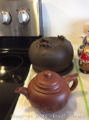 Japanese Tea Set And Pot A