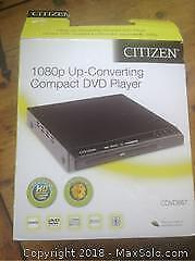 Citizen Compact DVD Player