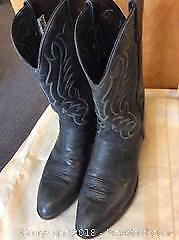 Men s Western Boots Code West Size 10 1/2