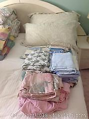 Sheets And Pillowcases Lot