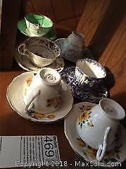 Cups And Saucers A