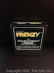 Frenzy Video Game for ColecoVision