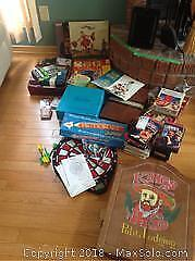 Games, VHS Movies and More A
