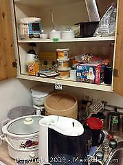 Small Appliances And Kitchen Items B